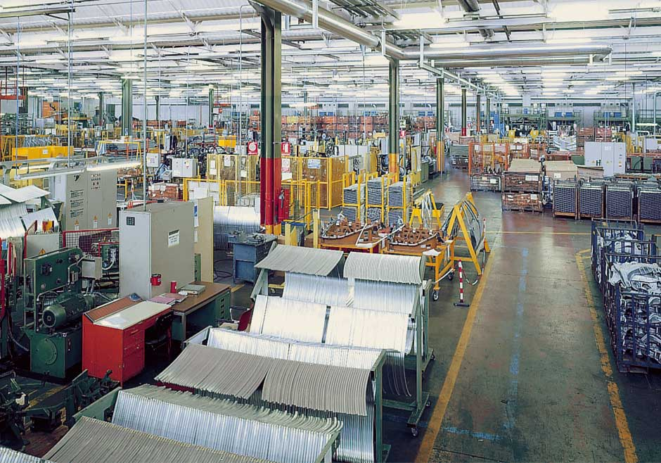Emarc Group's worldwide network: manufacturing plant in Chivasso Italy
