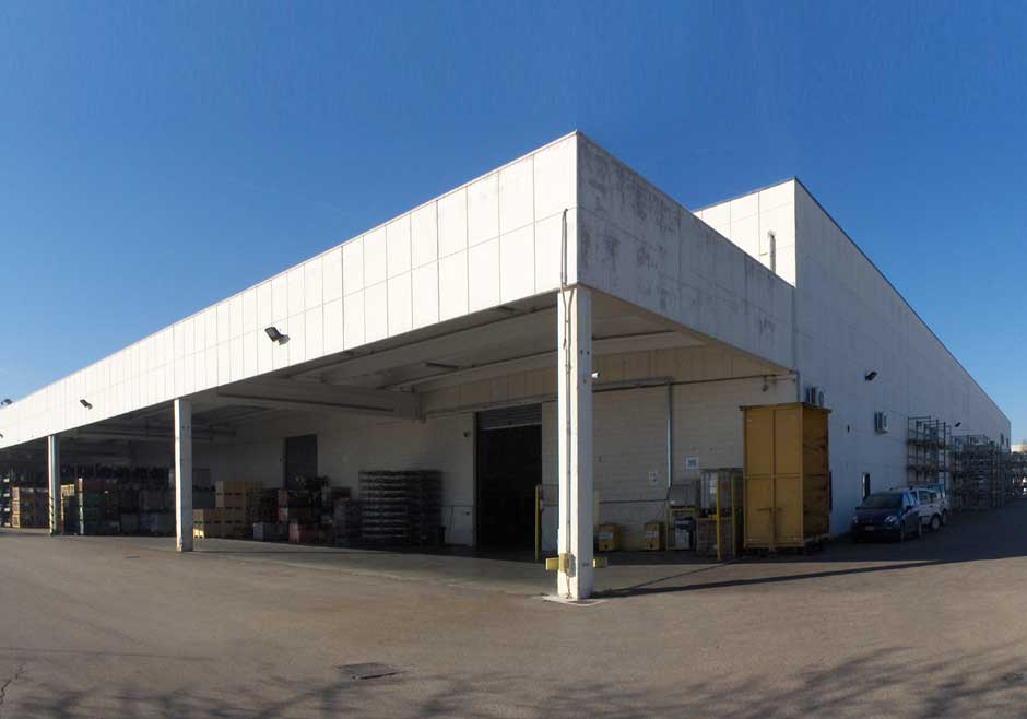Emarc Group's worldwide network: manufacturing plant in Melfi Italy