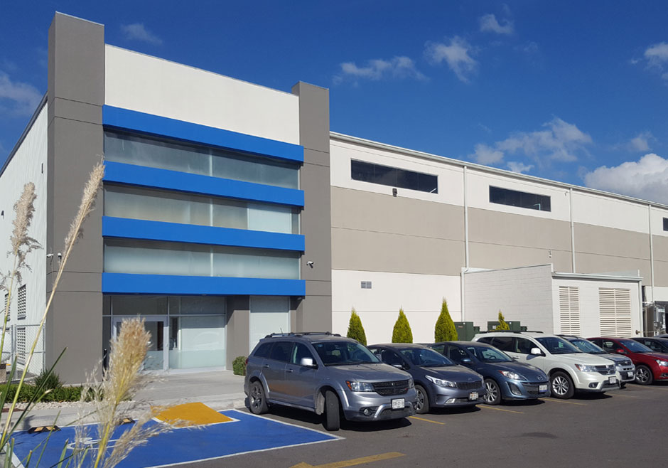 Emarc Group's worldwide network: Manufacturing plant in Queretaro, Mexico