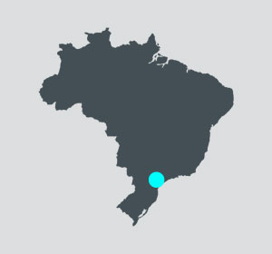 Emarc Group's worldwide network: Manufacturing plant in Curitiba, Brazil